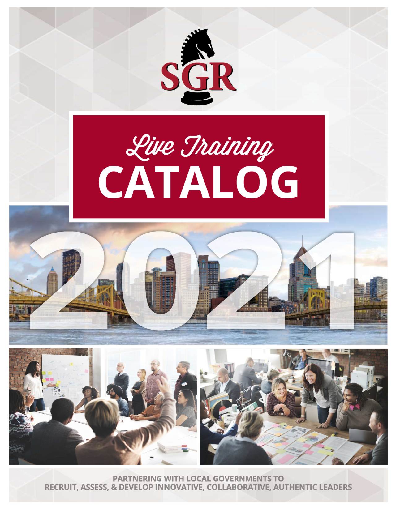 SGR Live Training Catalog Cover