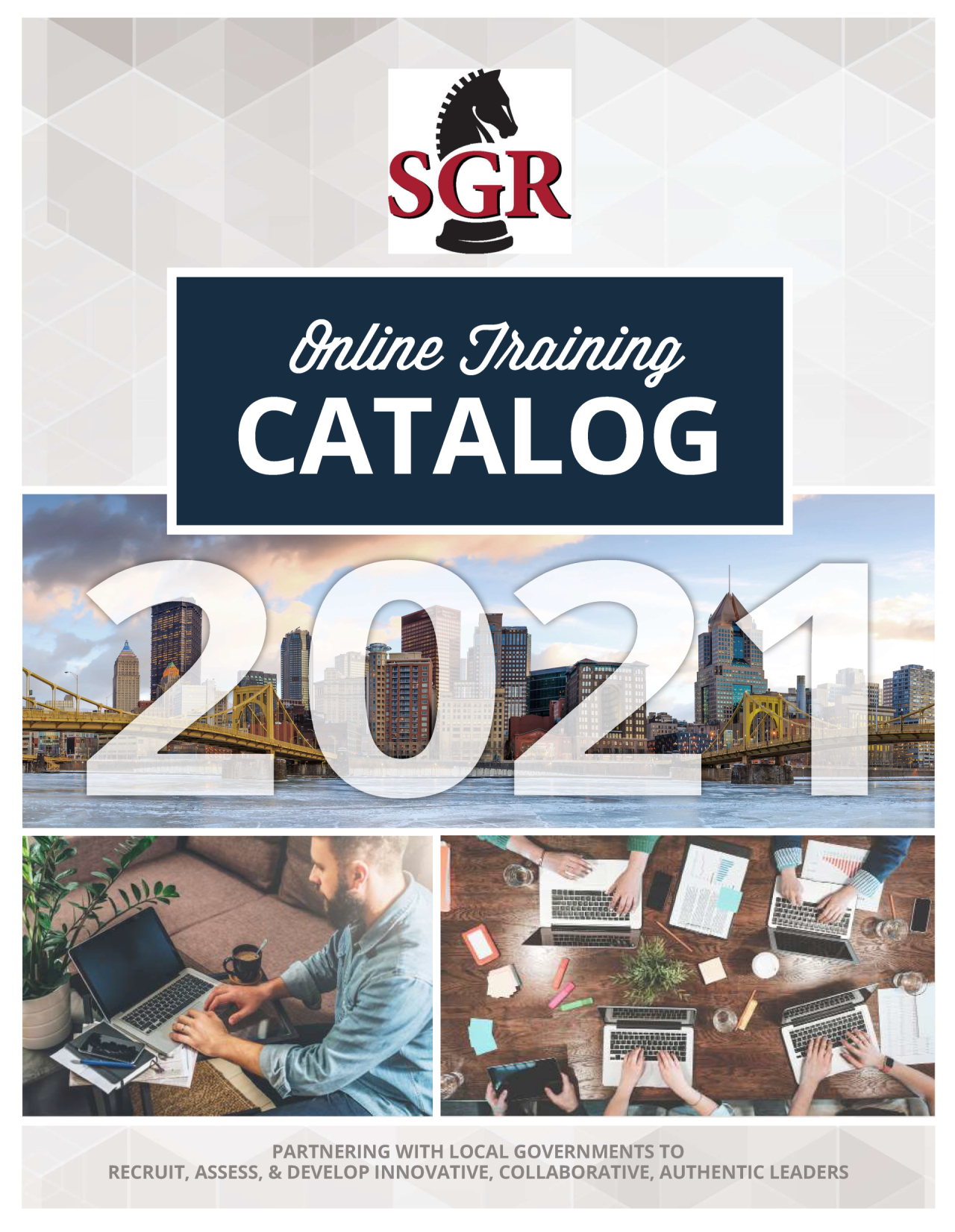 SGR Online Training Catalog Cover