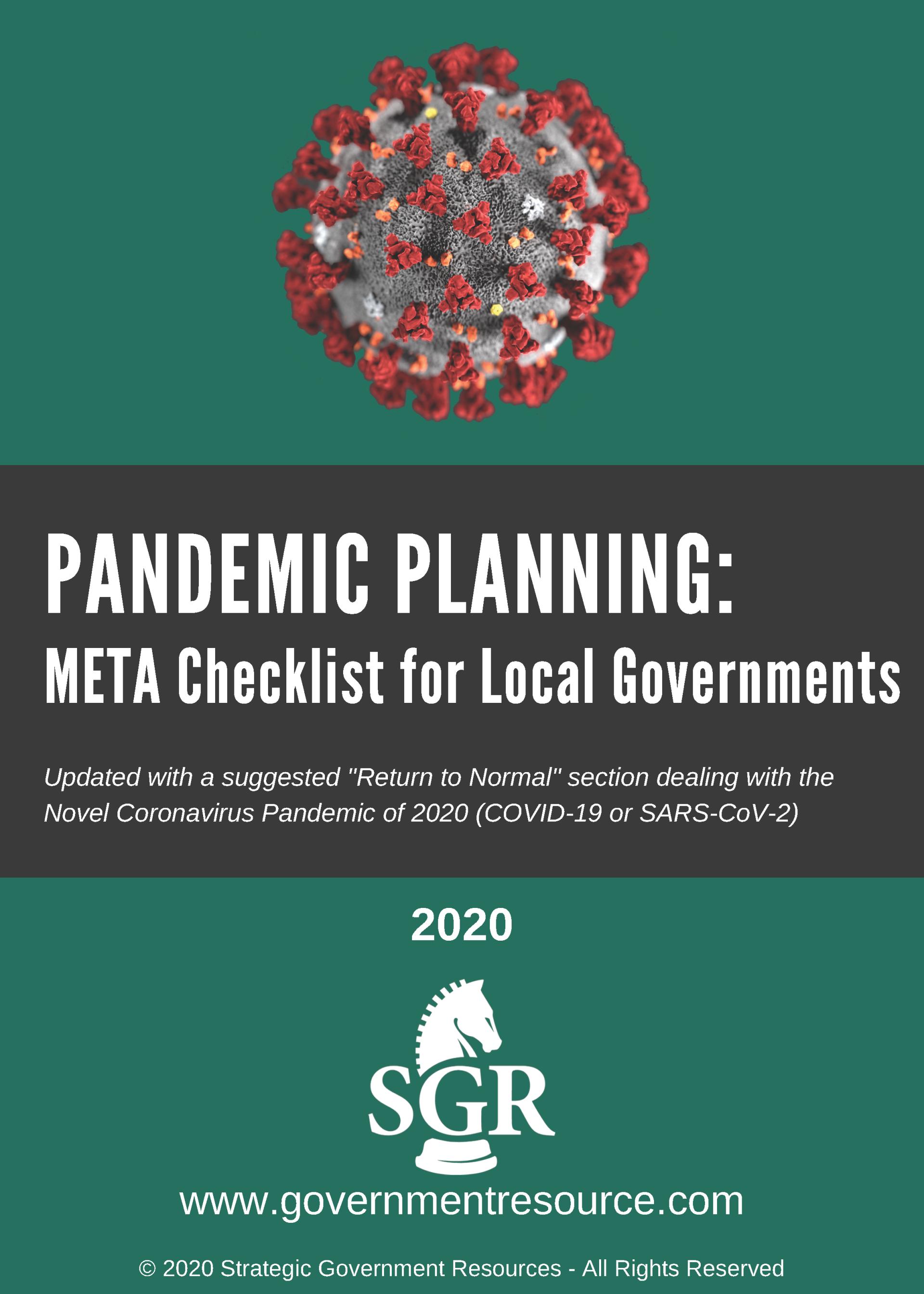 Local Government META Checklist Matrix Cover image